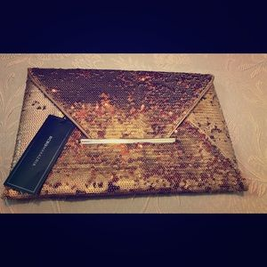 BCBG MAXZARIA envelope clutch